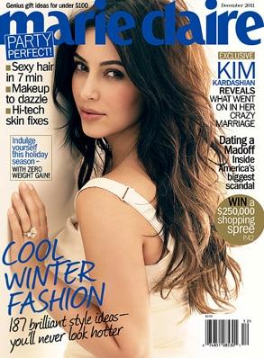 Kim Kardashian, Marie Claire