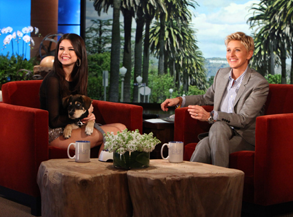 Selena Gomez, Ellen DeGeneres