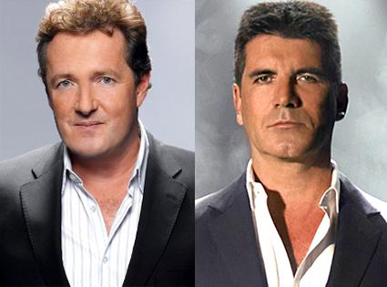 Piers Morgan, Simon Cowell