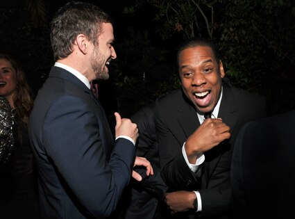 Justin Timberlake, Jay-Z, GQ Party
