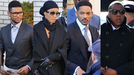 Usher, Jada Pinkett Smith, Will Smith, Jay-Z