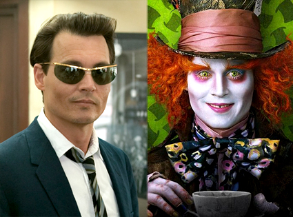 Johnny Depp, The Rum Diary, Alice In Wonderland