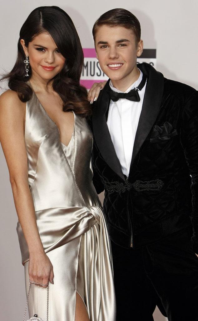 Justin Bieber, Selena Gomez, American Music Awards