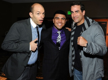 Paul Scheer, Boxer Victor Ortiz, Rob Riggle, Power Of Comedy Event