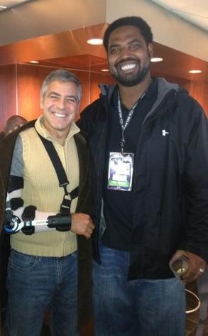George Clooney, Jonathan Ogden