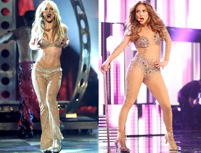 Britney Spears, Jennifer Lopez