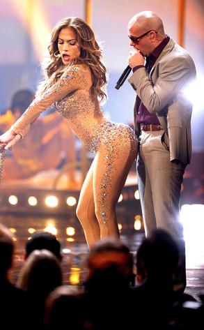 Jennifer Lopez, Pitbull, AMA's