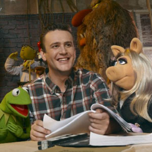 The Muppets, Jason Segel, Kermit, Miss Piggy