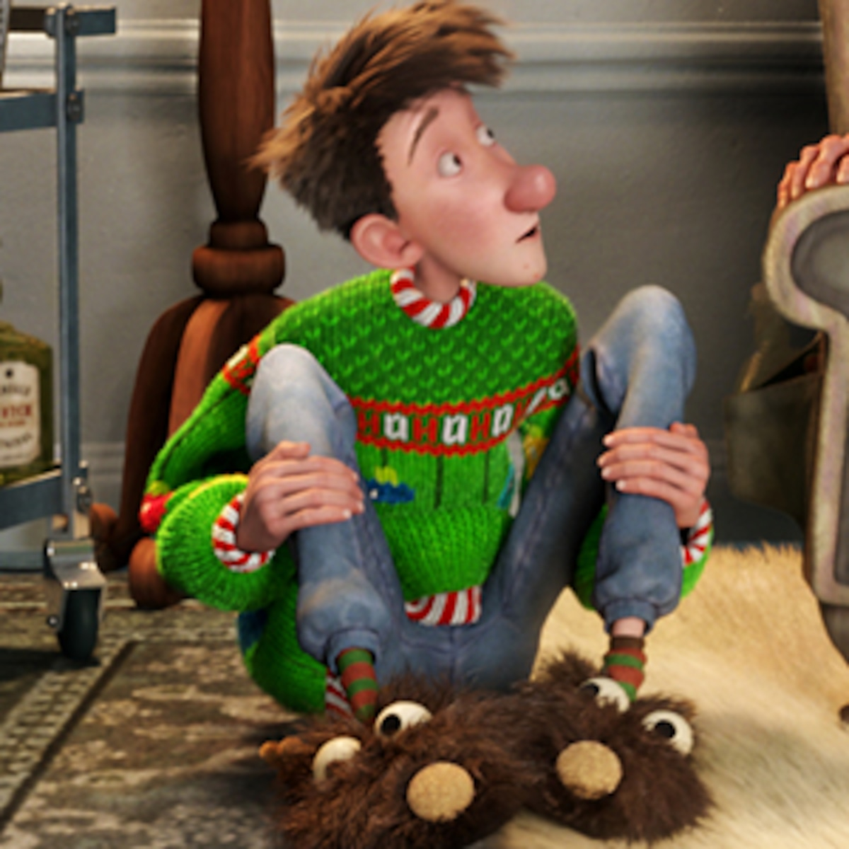Movie Reviews Arthur Christmas A Fun And Seriously Fast Paced Zip Through The Holiday Season E Online