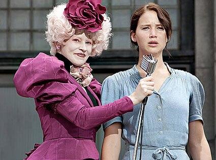 THE HUNGER GAMES, Jennifer Lawrence, Elizabeth Banks