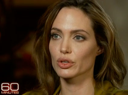 angelina jolie very lucky i didn 39 t die young e news. Black Bedroom Furniture Sets. Home Design Ideas