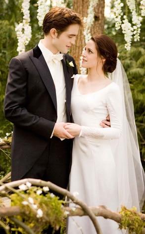 Découvrez de plus près la robe de mariée de Bella dans
