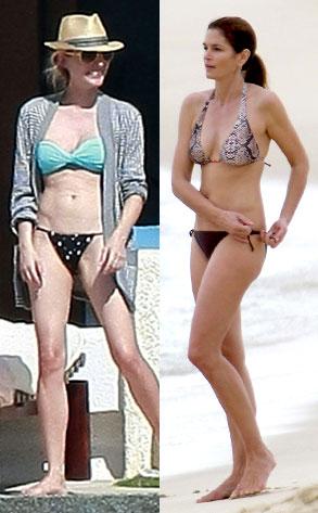 Diane Kruger, Cindy Crawford