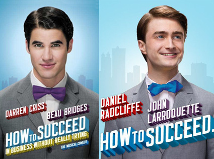 Darren Criss, Daniel Radcliffe, How to Succeed in Business