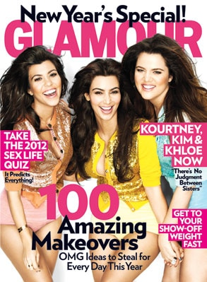Kardashian, Glamour Cover