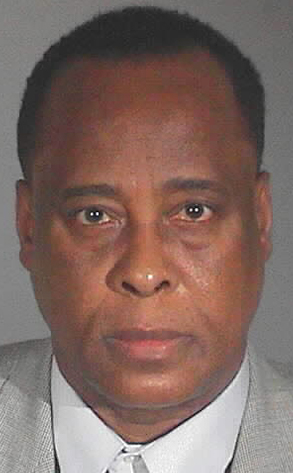 Conrad Murray, Mug Shot