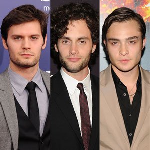 Penn Badgley, Ed Westwick, Hugo Becker
