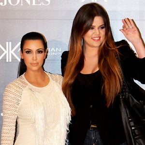 Kim Kardashian, Khloe Kardashian Odom