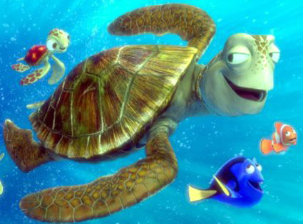 Finding Nemo, Crush, Squirt