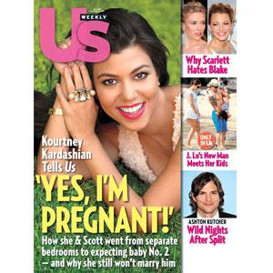 Kourtney Kardashian, US Cover
