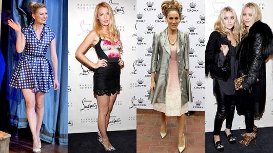 Kirsten Dunst, Blake Lively, Sarah Jessica Parker, Mary-Kate Olsen, Ashley Olsen