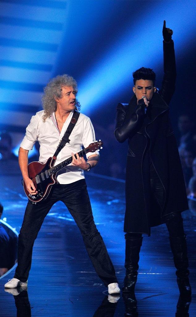 Brian May, Queen, Adam Lambert