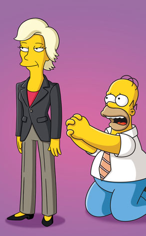 Jane Lynch, The Simpsons