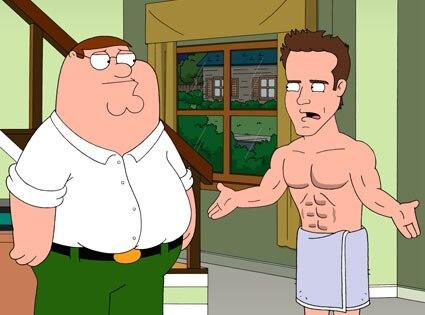 Ryan Reynolds, Family Guy