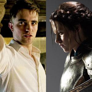 Robert Pattinson, Cosmopolis, Snow White and the Huntsman, Kristen Stewart