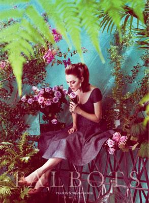 Julianne Moore, Talbots Ad