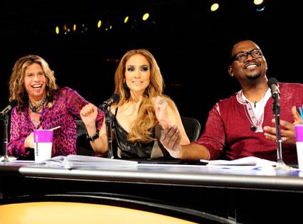 Steven Tyler, Jennifer Lopez, Randy Jackson, American Idol
