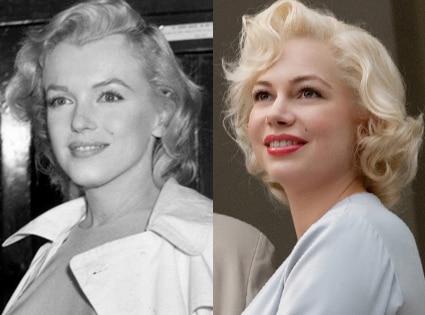 Marilyn Monroe, Michelle Williams, My Week with Marilyn