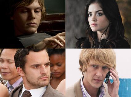 American Horror Story, Revenge, Pretty Little Liars, New Girl