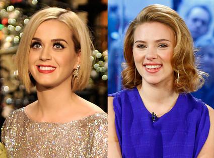 Scarlett Johansson, Katy Perry