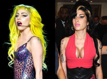 Lady Gaga, Amy Winehouse