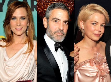 Michelle Williams, George Clooney, Kristen Wiig