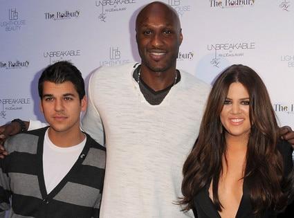 Rob Kardashian, Lamar Odom, Khloe Kardashian