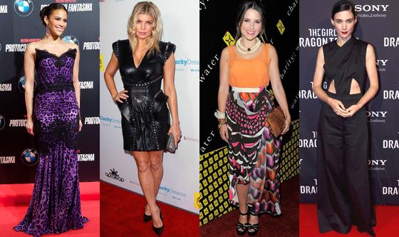 Rooney Mara, Sophia Bush, Paula Patton, Fergie
