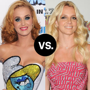 Katy Perry, Britney Spears