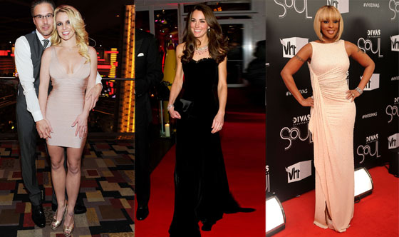 Britney Spears, Kate Middleton, Mary J. Blige
