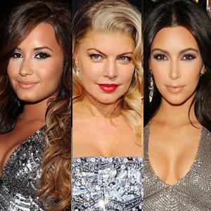 Demi Lovato, Kim Kardashian, Fergie