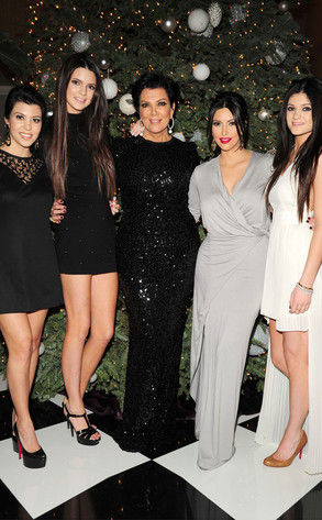 Kourtney Kardashian, Kendall Jenner, Kris Jenner, Kim Kardashian, Kylie Jenner