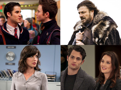 Glee, Game of Thrones, How I Met Your Mother, Gossip Girl
