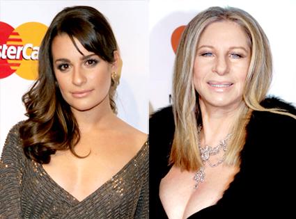 Lea Michele, Barbra Streisand