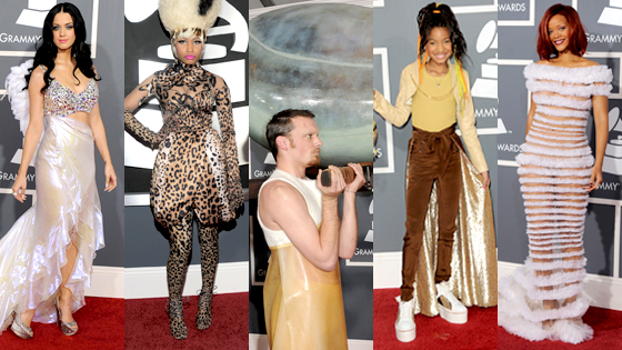 Katy Perry, Nicki Minaj, Lady Gaga, Willow Smith, Rihanna