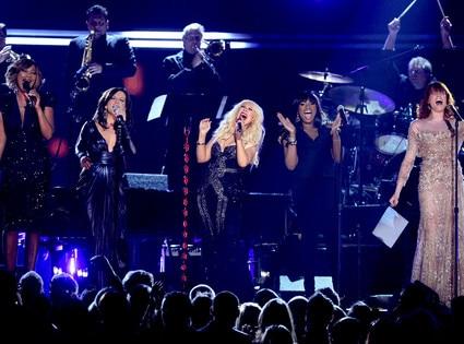 Yolanda Adams, Martina McBride, Christina Aguilera, Jennifer Hudson, Florence Welch