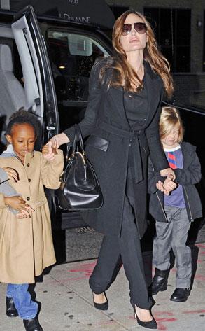 Angelina Jolie, Shiloh, Zahara