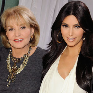 Barbara Walters, Kim Kardashian