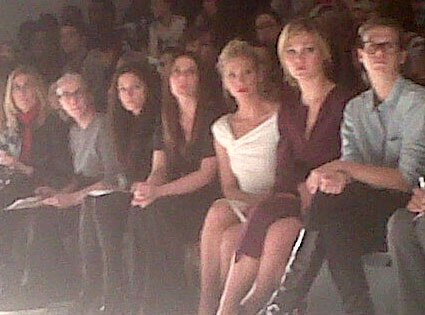 NY Fashion Week, Twitter