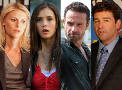 Kyle Chandler, Friday Night Lights, Claire Danes, Homeland, Andrew Lincoln, The Walking Dead, Nina Dobrev, The Vampire Diaries